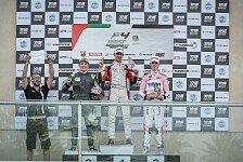 Krütten feiert in Abu Dhabi ersten Formel-4-Podest-Erfolg