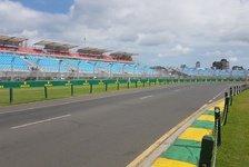 Formel-1-Saisonstart 2018: Melbourne macht sich F1-bereit