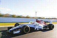 Formel 1 2018: Erstes Sauber-Outing mit Alfa Romeo