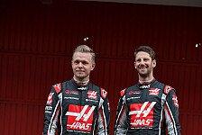 Magnussen verrät Vertragsdauer, Grosjean-Traum von Haas-Sieg
