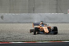 Formel-1-Testfahrten 2018: Bildergalerie vom Alonso-Unfall