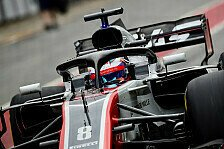 Formel-1-Test in Barcelona: Haas F1 erwischt Pannen-Start
