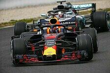 Formel 1 2018: Hamilton bangt: Red Bulls Australien-Update top?