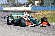 IndyCars: Österreicher Rene Binder überzeugt bei Test-Debüt