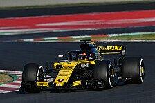 Formel-1-Testfahrten - Sainz: Bei Renault geht noch viel mehr