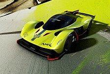 Debüt für den Aston Martin Valkyrie AMR Pro in Genf