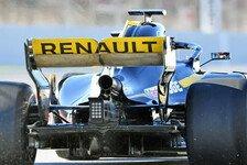 Formel-1-Technik: Renault trickst mit Auspuff am Heckflügel