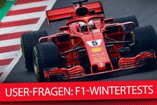 Formel 1 - Video: Formel 1 2018: Fragen nach den Wintertests