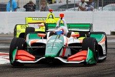 IndyCar: Binder von Saisonstart in St. Petersburg überwältigt