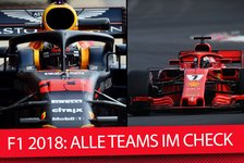 Formel 1 - Video: Formel-1-Saisonstart 2018: Die F1-Teams im schonungslosen Check