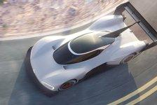 VW: Erste Bilder des Elektro-Boliden für Pikes Peak