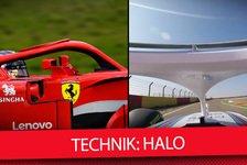 Formel 1 - Video: Technik erklärt: Formel-1-Cockpitschutz Halo im Detail