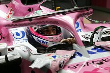 Force India macht McLaren nach: Flip Flop statt Halo