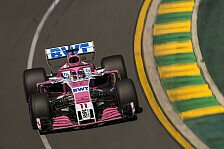 Formel 1, Australien: Force India mit 'neuem' Auto am Start