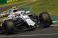 Formel 1 2018: Butterbrot-Papier zerstört Sirotkins F1-Debüt