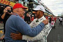 Formel 1, Hamilton sagt Monaco-Pressekonferenz wegen Lauda ab