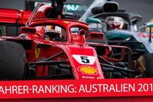 Formel 1 - Video: F1-Fahrer-Ranking Australien: Härtefälle der Redaktion