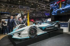 Neues Formel-E-Auto mit Halo für 2018/2019