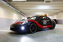 Neues Safety Car für Le Mans und WEC: Porsche 911 Turbo