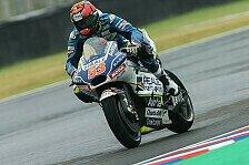 MotoGP: Tito Rabat bei Barcelona-Test gestürzt