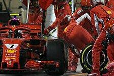 Formel 1 heute vor 2 Jahren: Beinbruch-Boxendrama bei Ferrari