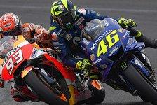 Valentino Rossi vs. Marc Marquez: Eine MotoGP-Feindschaft