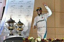 F1 Bahrain Statistiken: Hamilton stellt Räikkönen-Rekord ein