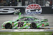 NASCAR Texas: Erster Saisonsieg für Kyle Busch