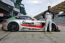 Patric Niederhauser startet in der Blancpain GT Series Asia