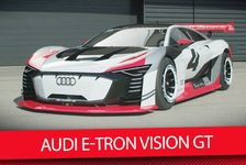 Formel E - Video: Audis Playstation-Monster: Der Audi E-Tron Vision GT ist real