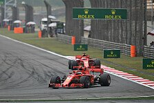 Formel 1, Trainingsanalyse China: Vettel & Ferrari in Problemen