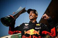 Formel 1 heute vor 3 Jahren: Ricciardo siegt aus dem Hinterhalt
