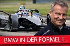 BMW-Boss Marquardt: Das große Interview zum neuen Formel-E-Auto