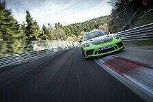 Porsche 911 GT3 RS auf der Nordschleife