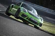 Neuer Porsche 911 GT3 RS auf Nordschleife 24 Sekunden schneller