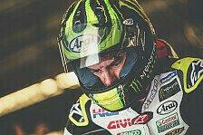 MotoGP - Crutchlow mit Bike-Wechsel zur Pole: Ich kann das eben