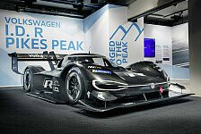 VW präsentiert Elektro-Rekordjäger für Pikes Peak