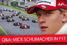 Formel 1 - Video: Formel 1 2018: Mick Schumacher & Robert Kubica in der F1?