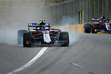 Toro-Rosso-Krach: Gasly und Hartley entkommen Horror-Crash