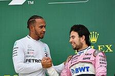 Formel 1, Hamilton warnt vor Perez: Macht Red Bull stärker