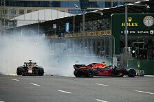 Red-Bull-Clash in Baku: Die härtesten Team-Unfälle der Formel 1