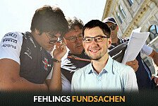 Formel 1, Fehlings Fundsachen: Au Backe Seb! Baku kurios