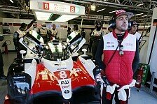 Fernando Alonso erzielt Bestzeit bei Test in Le Mans