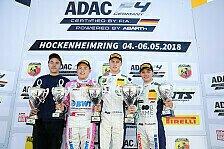ADAC Formel 4 - Podiumserfolg für Niklas Krütten in Hockenheim