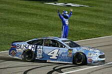 NASCAR Kansas: Kevin Harvick gewinnt Night Race