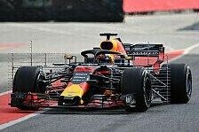 Formel 1, Barcelona-Testfahrten III: Alle Bilder vom Dienstag