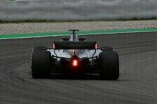 Galerie, Formel-1-Testfahrten: Mercedes mit Leuchten am Heck