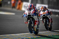 Danilo Petrucci mit P2 in Le Mans: Gute Karten für Ducati-Poker