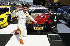 DTM Norisring: Mercedes auf Pole - Abbruch nach Rast-Unfall