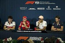 Formel 1 2018: Monaco GP - Mittwoch